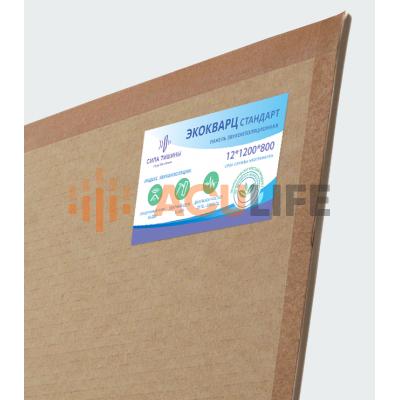ЭкоКварц панель |  12 мм х 1200 мм х 600 мм ( 0.72 м2 )