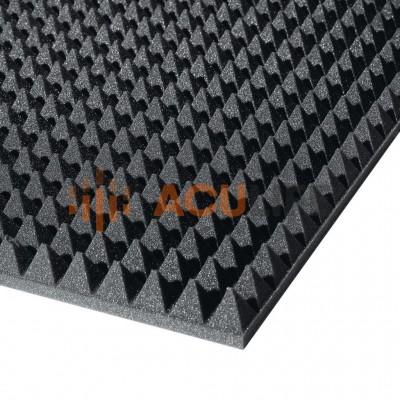 Акустический поролон (1950х950х50мм, серый) пирамида