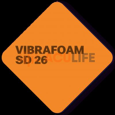 Вибрафом (Vibrafoam) SD 26,  оранжевый