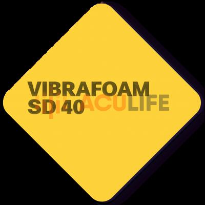 Вибрафом ( Vibrafoam ) SD 40 желтый , толщиной 12,5 и 25 мм