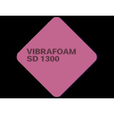 Эластомер Вибрафом (Vibrafoam) SD 1300 темно-розовый (2м х 0,5м x 25мм) 1м2