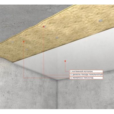 Система звукоизоляции под натяжной потолок | Tecsound 2FT 80