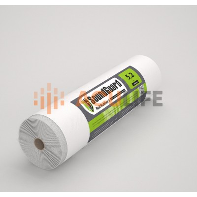 SoundGuard Roll Rubber K | Звуко-гидроизоляционная подложка