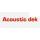 Acoustic dek