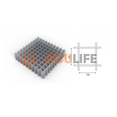 Сетка арматурная 100х100мм (2х1м) d=4мм